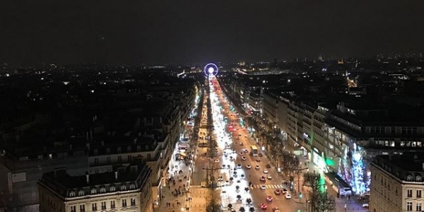 Night out in #paris #arcdetriomphe