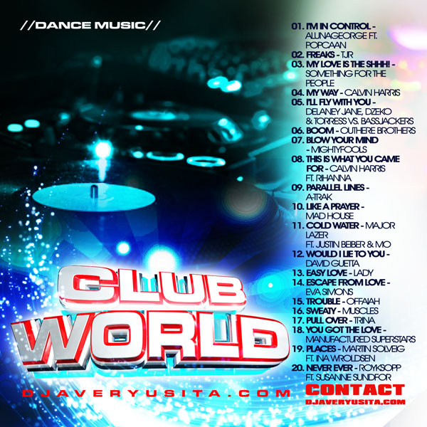 Clubworld Mixed By DJ Avery Usita 007 Podcast