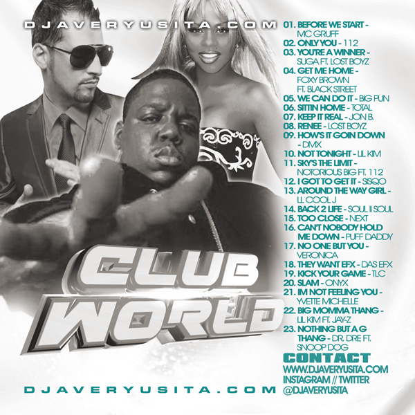 Clubworld Mixed By DJ Avery Usita 010 Podcast
