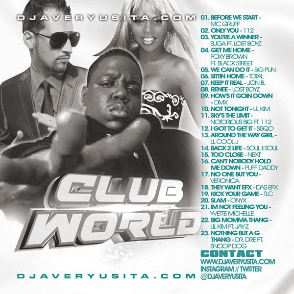 Clubworld Mixed By DJ Avery Usita 010 Podcast