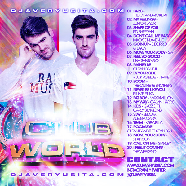 Clubworld Mixed By DJ Avery Usita 011 Podcast