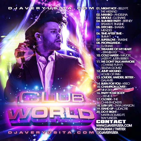 Clubworld Mixed By DJ Avery Usita 012 Podcast