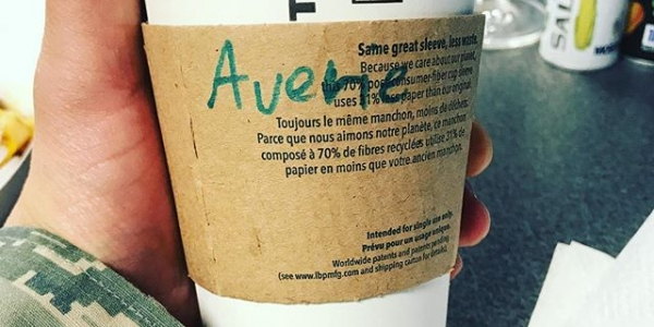 Gotta love the education system. I learned a new way to spell my name Vicker @victormenegaux. @crys_usita #starbuckscoffee #starbucks #pumpkinspicelatte #venti