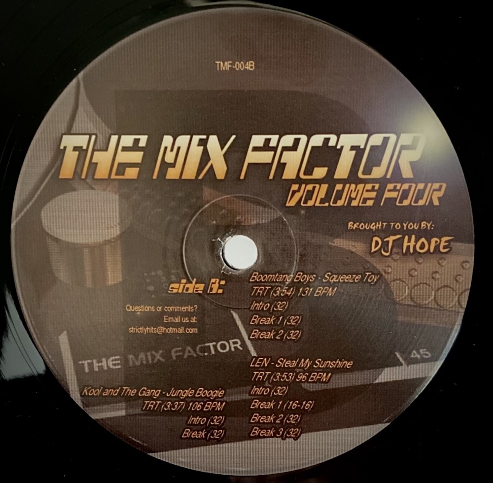 The Mix Factor Four